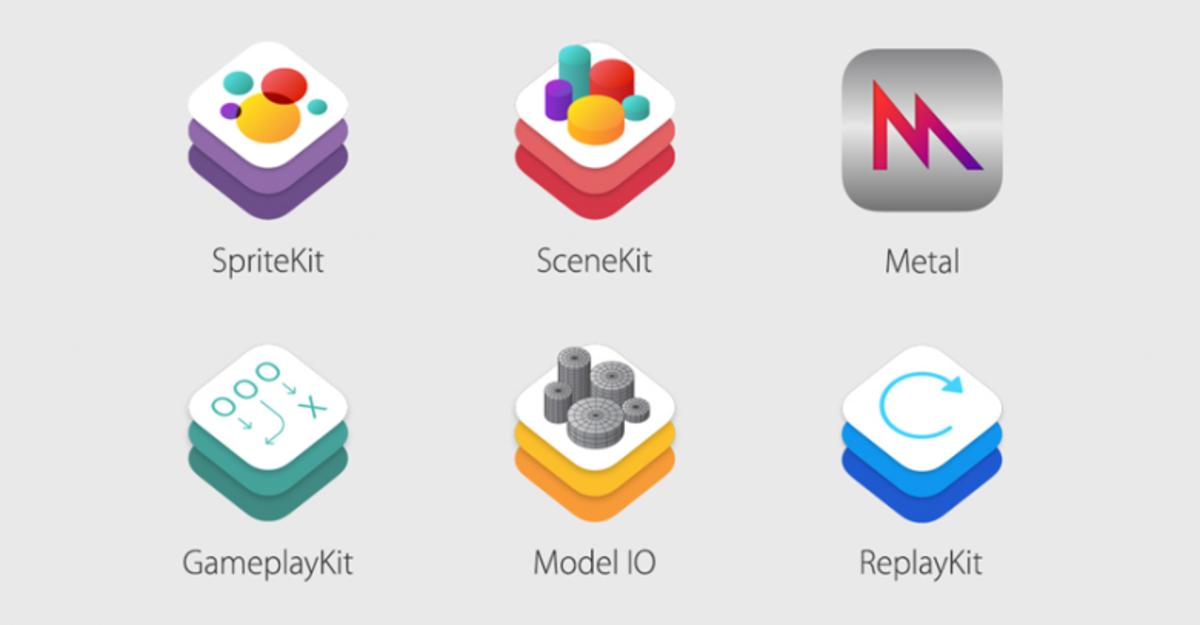 Apple представила три новых фреймворка для разработчиков игр