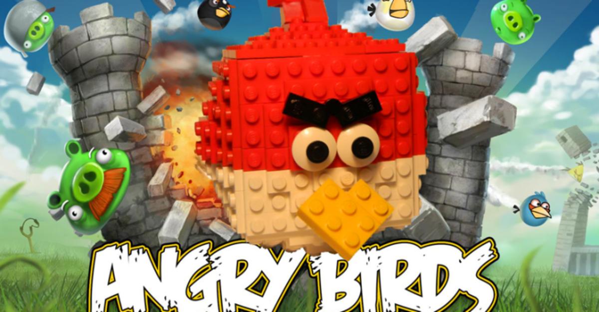Rovio и Lego выпустят конструктор по мотивам Angry Birds
