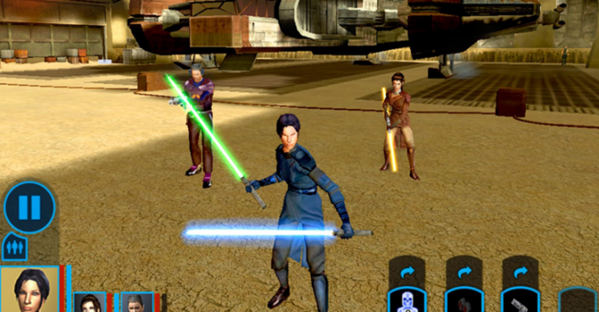 Star Wars: Knights of the Old Republic появилась на Android