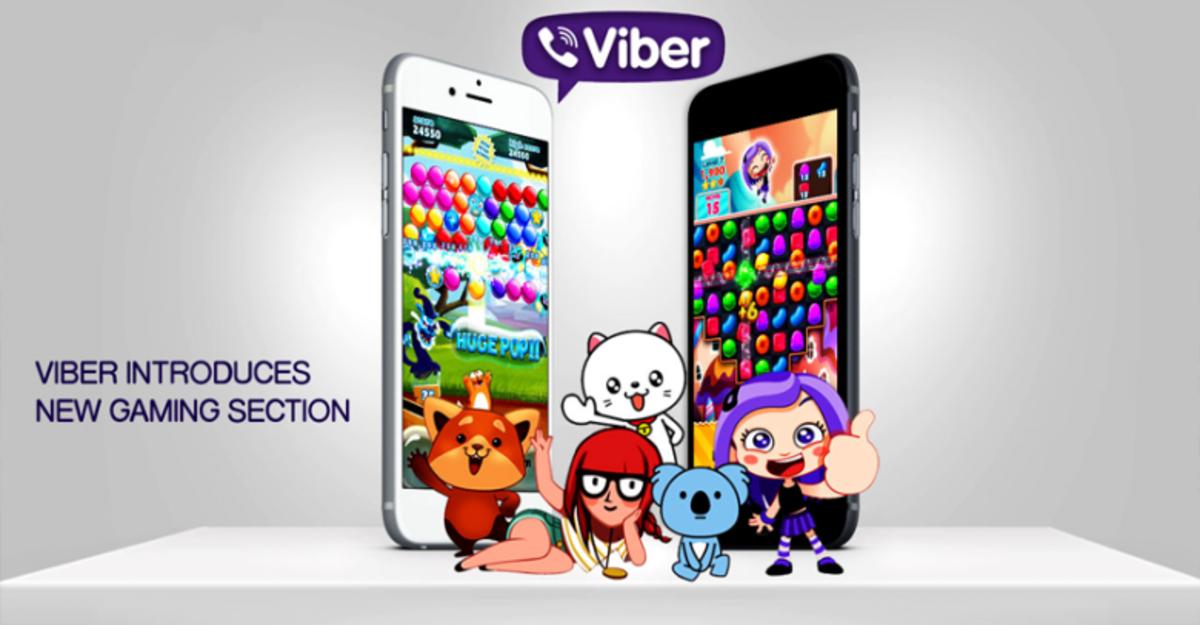 Viber запустил собственную игровую платформу