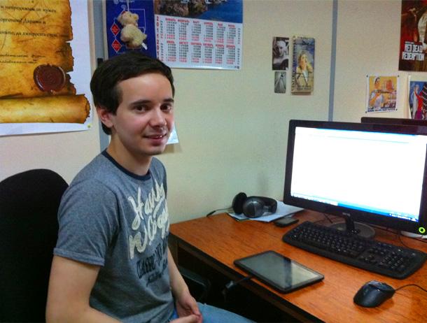 Разработчик под Android Александр Оплеснин