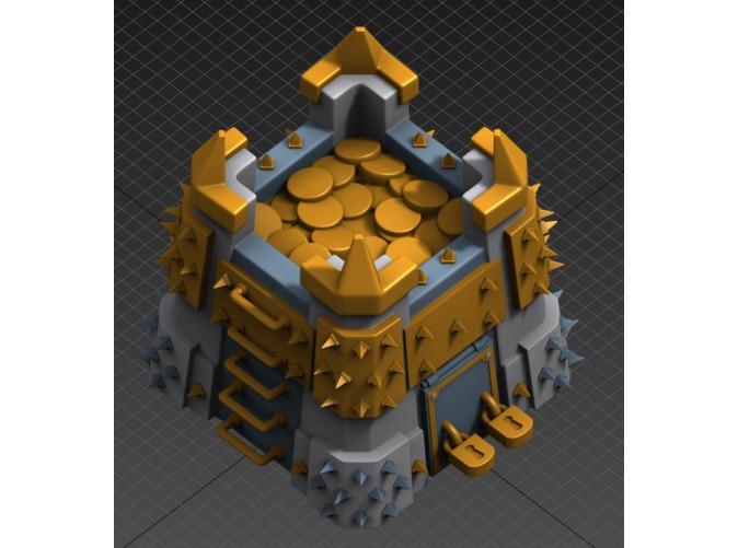 Clash of clans золото