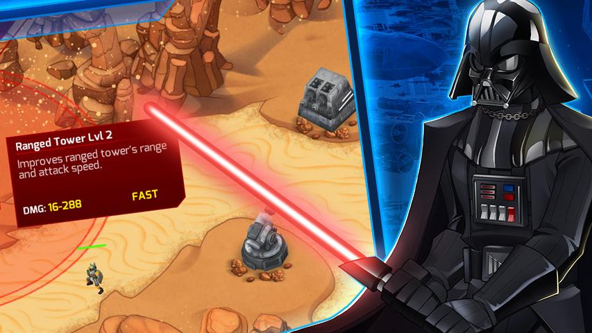 Состоялся мировой релиз Star Wars - Galactic Defense