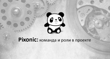Семинары Pixonic - команда и роли в проекте