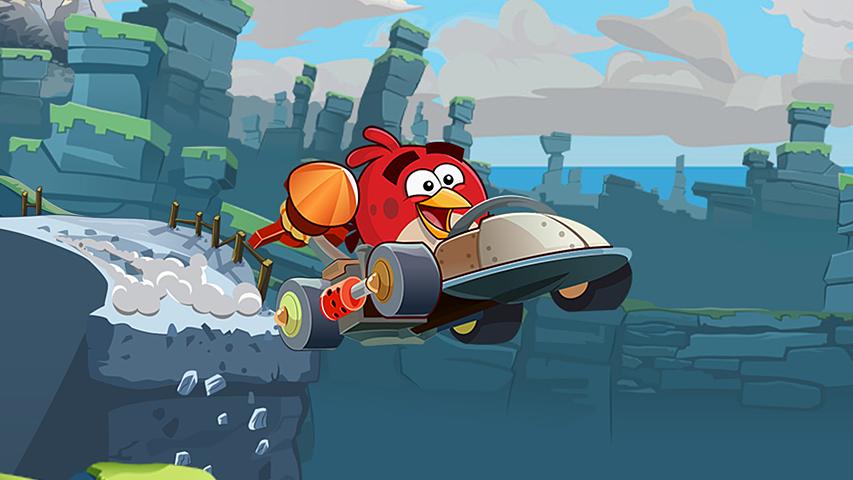 Angry Birds Go! преодолела отметку в 100 млн загрузок
