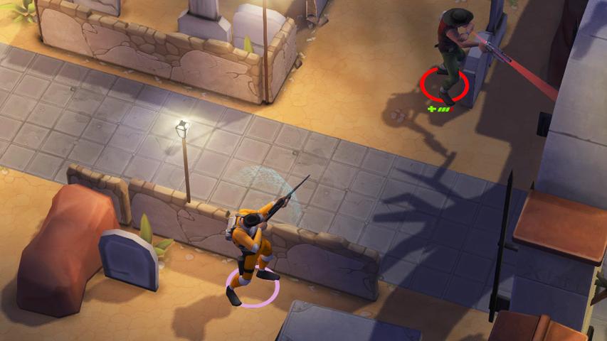 Space Marshals - новая игра от создателей серии Reckless Racing