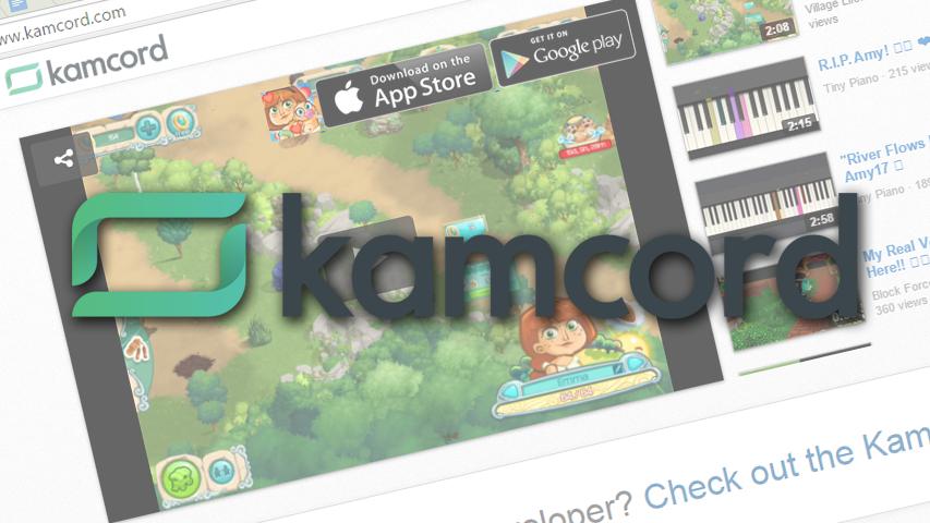 SDK от Kamcord можно найти на 180 млн гаджетов