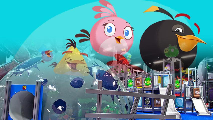 В апреле в Санкт-Петербурге откроется крытый парк развлечений Angry Birds