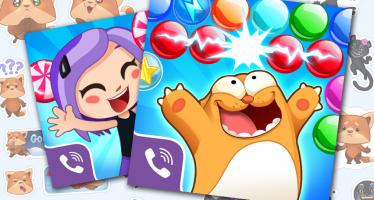 Viber вывела в России в игровой Топ-6 две игры