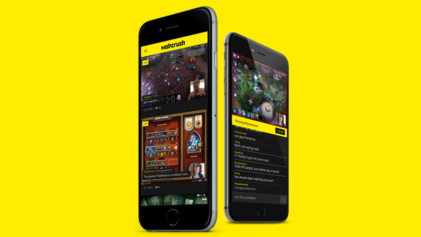 Сервис по стримингу мобильных игр Mobcrush поднял $4,9 млн