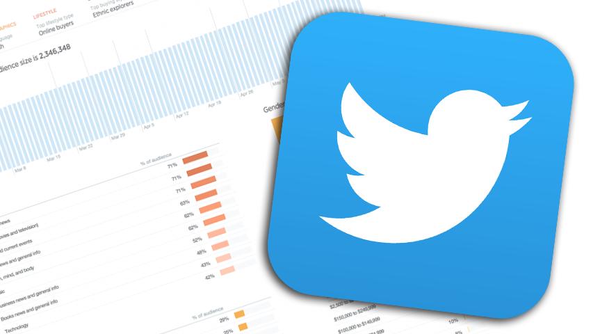 Twitter позволил анализировать аудиторию владельцем микроблогов