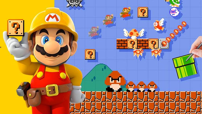 Авторы Super Mario Bros рассказали, как рисовали уровни к игре