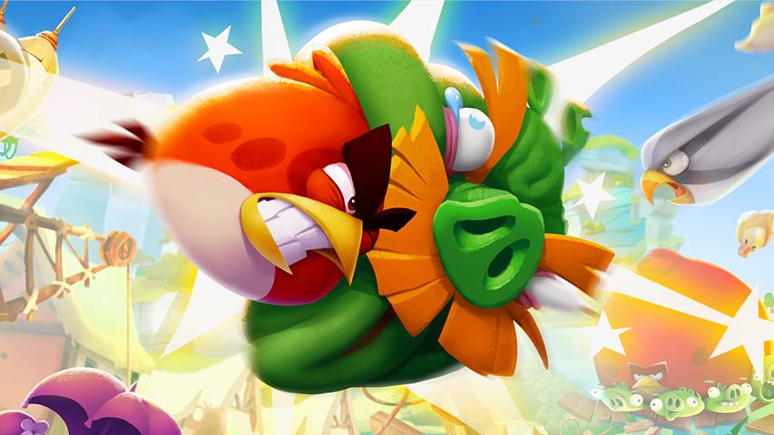 Angry Birds 2 достигла 1 млн загрузок за 12 часов