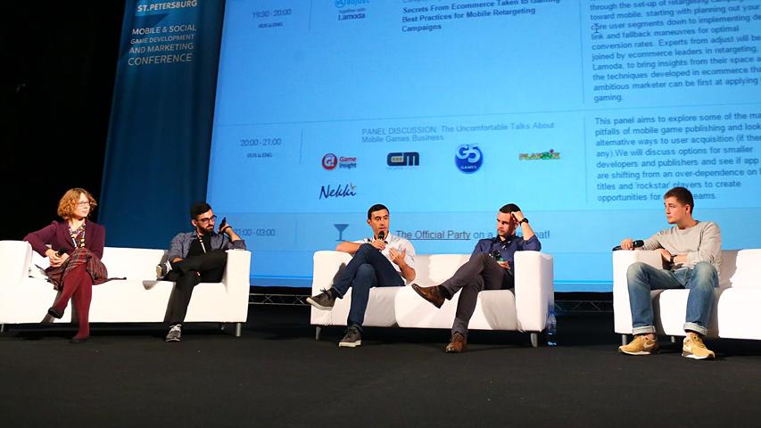 White Nights 2015 -  круглый стол О мобильно-игровом бизнесе начистоту