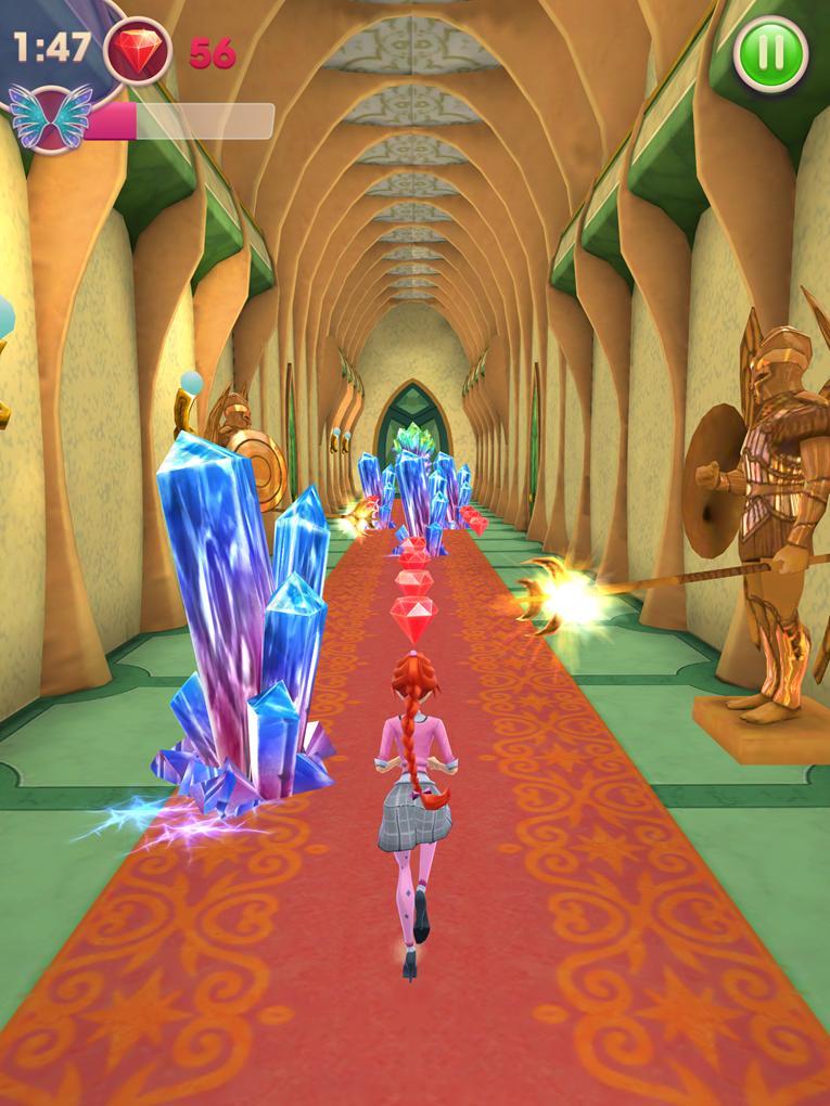 Игры винкс школа волшебниц магия гадания на картах оракул i