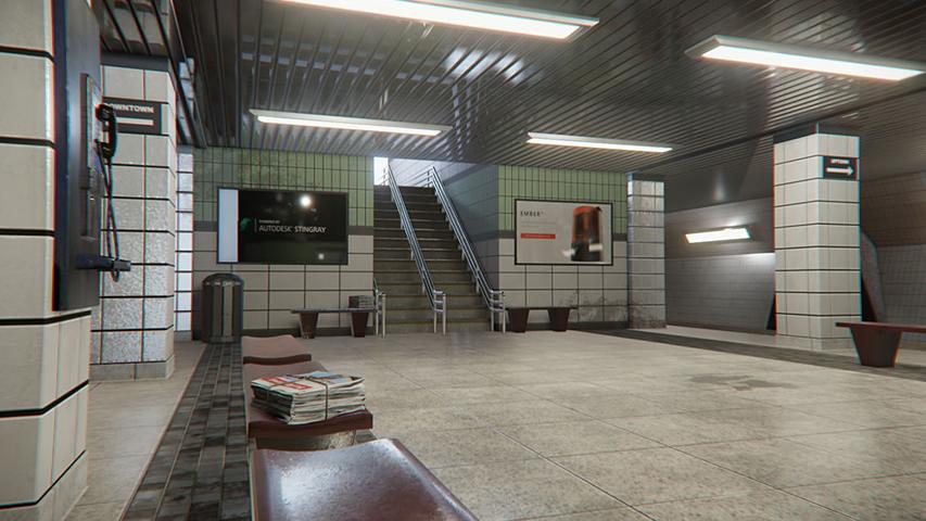 Autodesk представила собственный движок по разработке игр