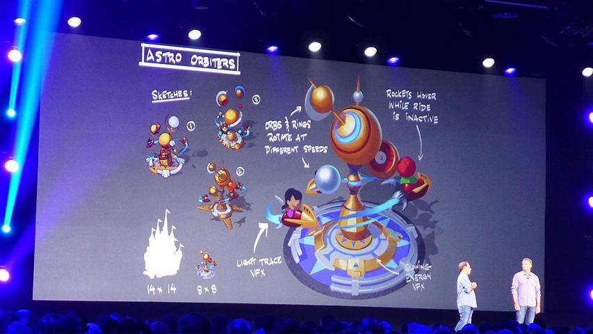 Disney с Gameloft делают мобильный симулятор парка аттракционов