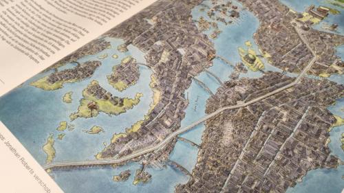 Как нарисовать карту города