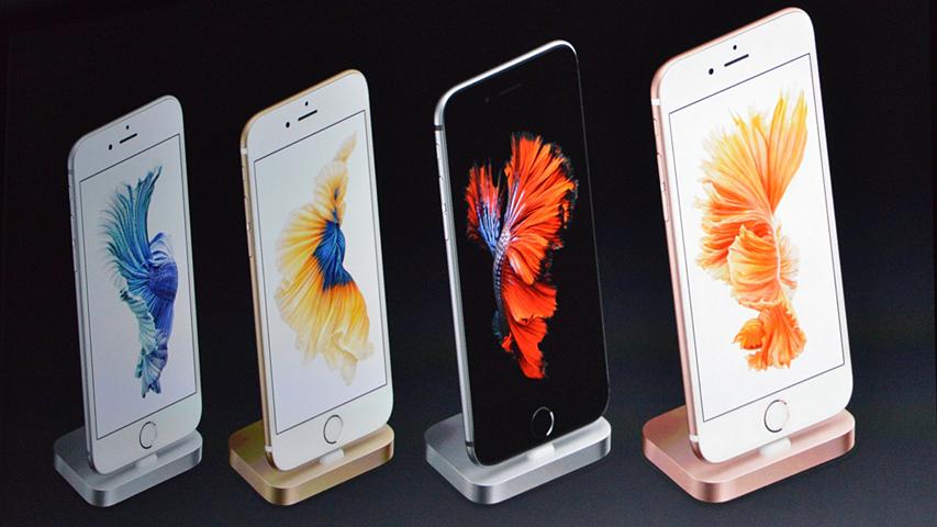 Apple представила iPhone 6S и 6S Plus