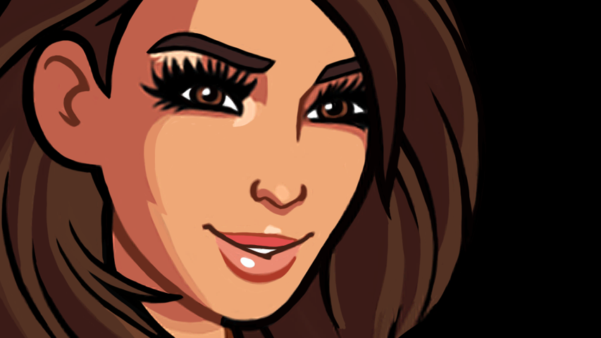 Ким Кардашян - мы постоянно обсуждаем сиквел Kim Kardashian - Hollywood