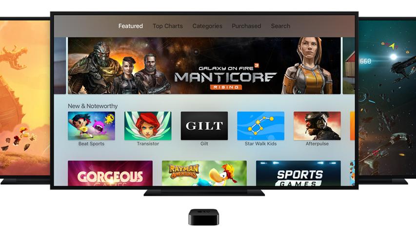 Размер приложения для Apple TV будут ограничен 200 Мб