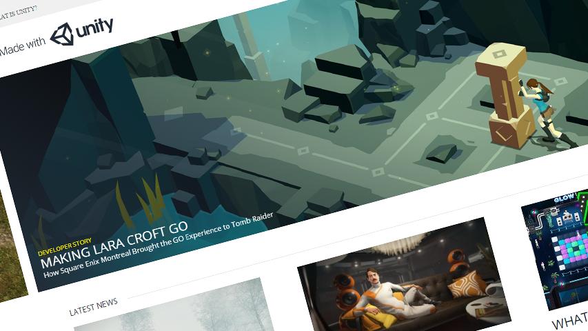 Unity запустила медиа-ресурс для разработчиков