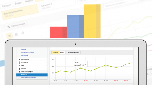 AppMetrica - у нас в планах реализация базовой аналитики по сторам