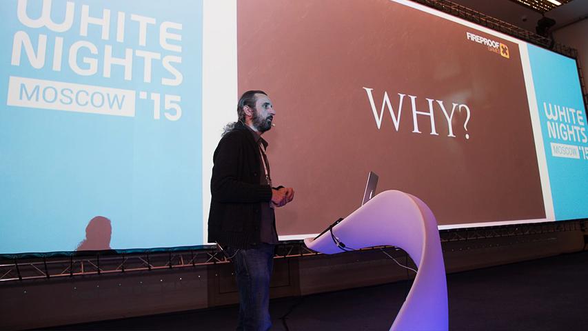 White Nights Moscow 2015 - доклад Fireproof Studios о том, как авторы The Room добились успеха