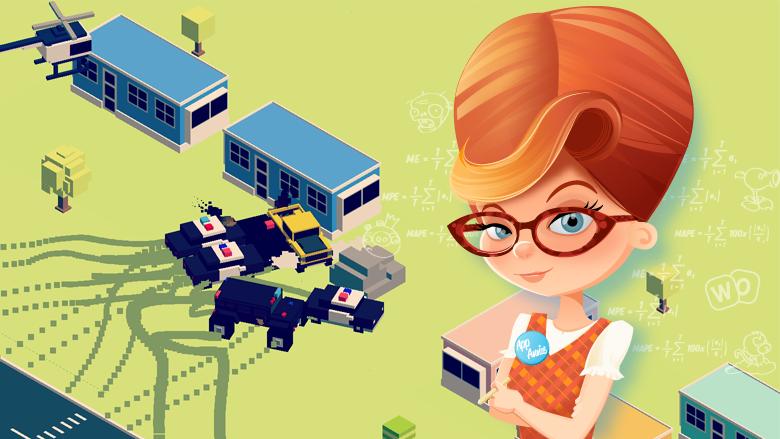 App Annie - номер два в американском игровом MAU-топе - Smashy Road - Wanted