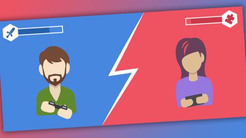 Исследование - дифференциация игровых жанров по популярности у мужчин и женщин