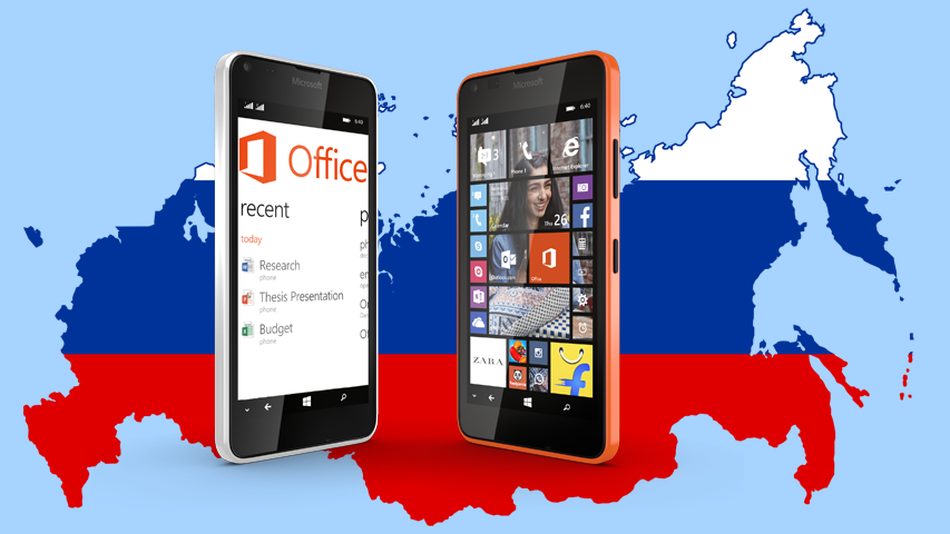 Kantar - смартфоны на базе Windows Phone обошли в России по продажам iPhone-ы