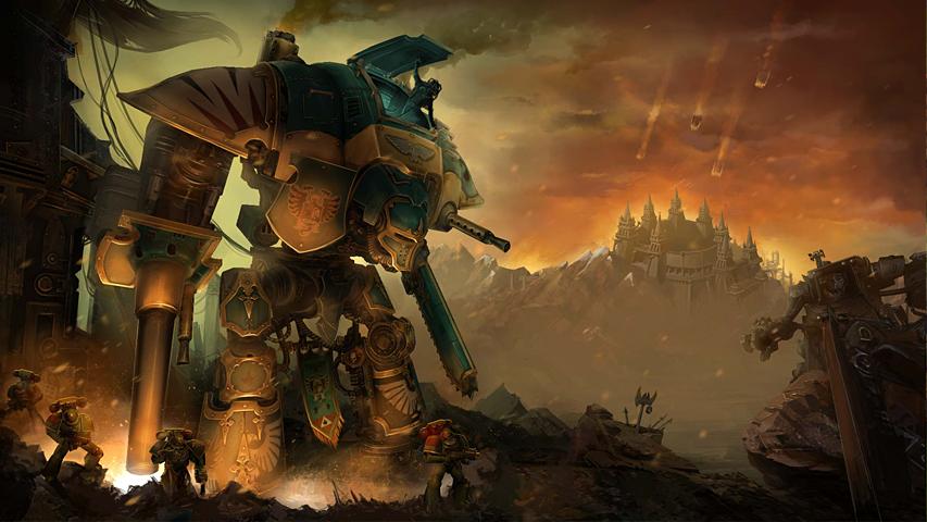 Warhammer 40,000 - Freeblade появится в ноябре