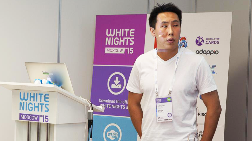 White Nights Moscow 2015 - доклад Google о продвижении игр с помощью Google AdWords