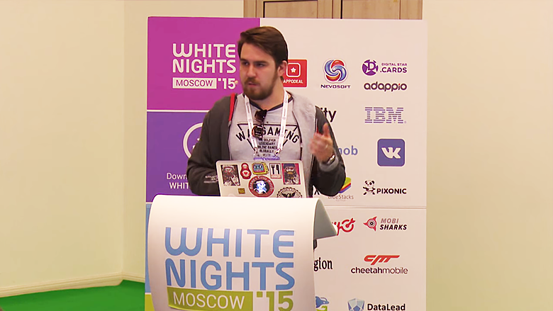 White Nights Moscow 2015 - доклад Wargaming o UGC Media
