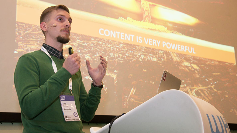 White Nights Moscow 2015 - доклад Wargaming о том, как контент помогает бизнес