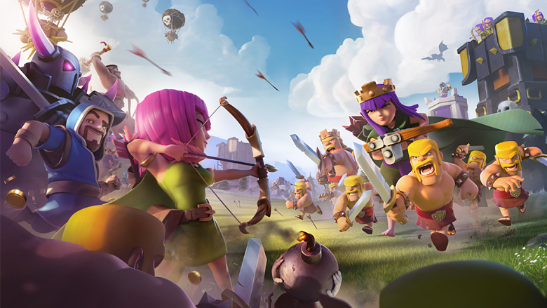 Как Supercell сломала фарм в Clash of Clans