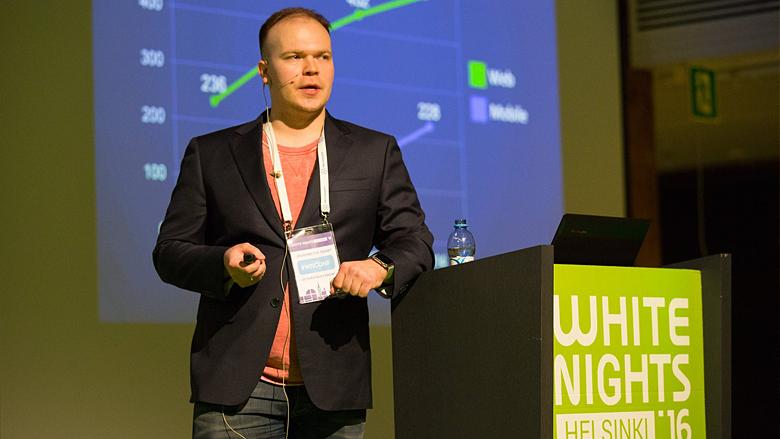 White Nights Helsinki 2016 - доклад 101XP о противопоставлении мобильного и браузерного рынков
