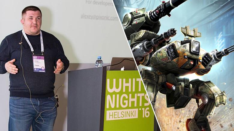 White Nights Helsinki 2016 - доклад Pixonic об истории студии и возвращении к издательской деятельности