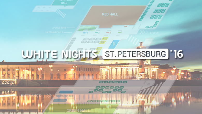 90 скидка для инди-разработчиков на White Nights StPetersburg 2016