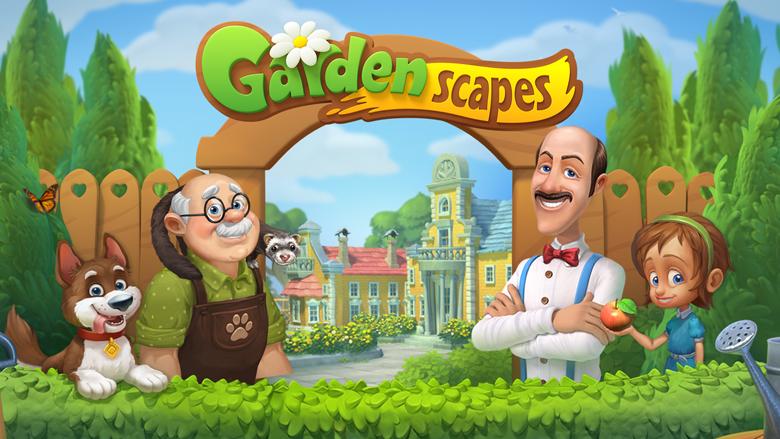 Playrix анонсировала новую три-в-ряд — Gardenscapes