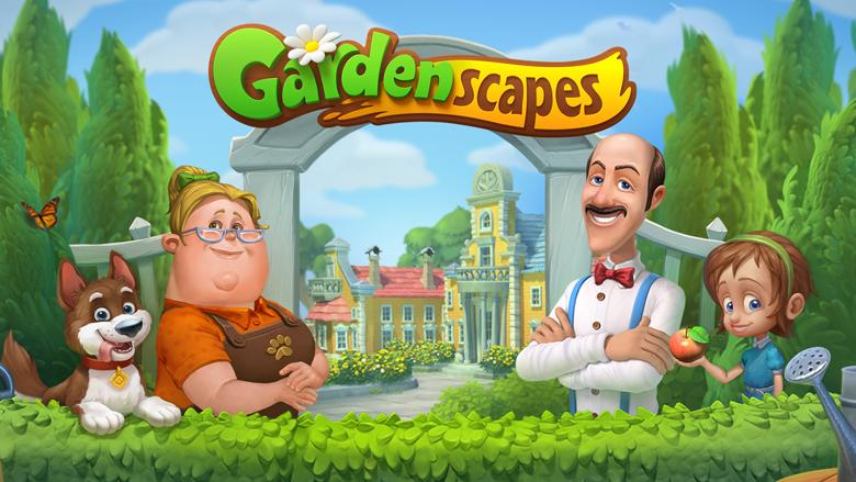 Playrix анонсировала новую три-в-ряд - Gardenscapes