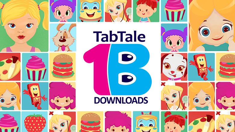 У игр TabTale - больше 1 млрд загрузок