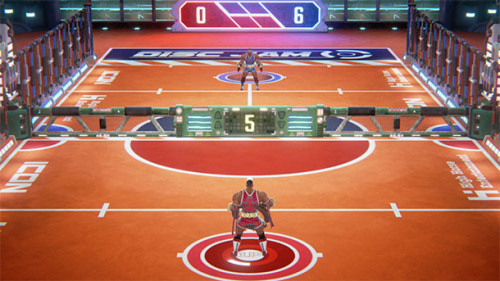 Disc Jam Low-End Renderer and Lighting