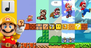 деконструкция уровней серии Super Mario Bros