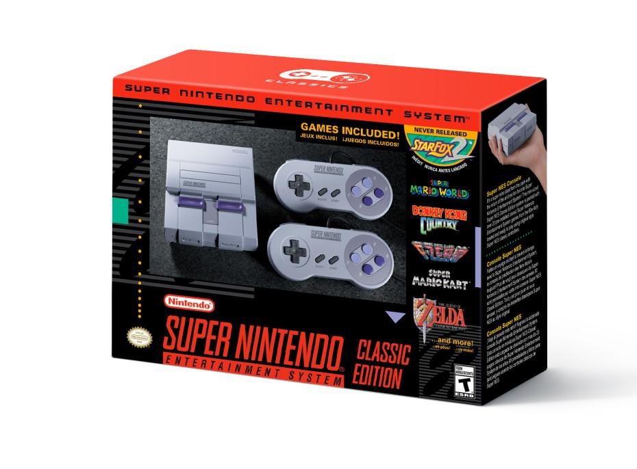Приставка Super NES Classic выйдет 29сентября этого 2017г.