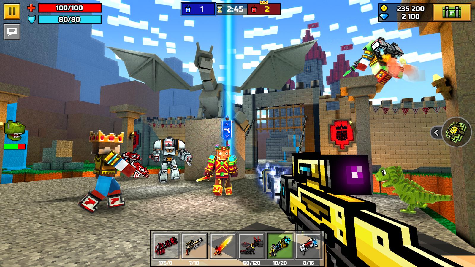 3d pixel gun Pixel Gun