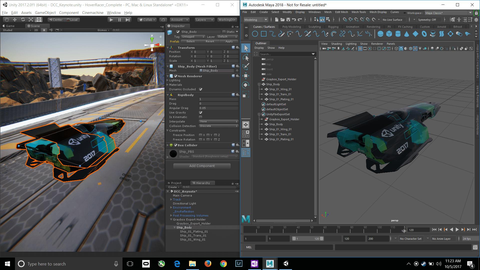 Вышла новая Unity 2017: добавили функционал для 2D и улучшение экспорта из Maya