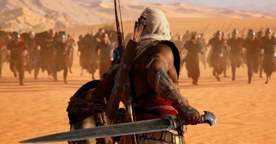 Assassin's Creed Origins вдвое опередил предыдущую часть по стартовым продажам