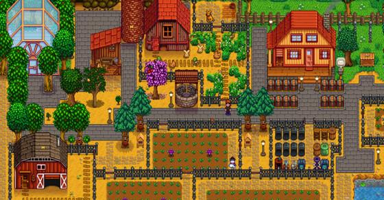 Stardew Valley за три месяца стала самой скачиваемой игрой на Switch за 2017 год