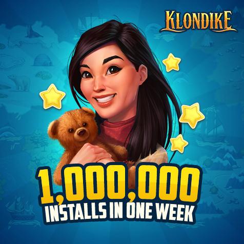 Мобильная версия «Клондайка» от Vizor собрала 1 млн загрузок за неделю с момента релиза